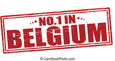 No one in Belgium - Stamp with text no one in Belgium vector...