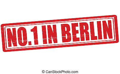 No one in Berlin - Stamp with text no one in Berlin vector...