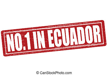 No one in Ecuador - Stamp with text no one in Ecuador vector...