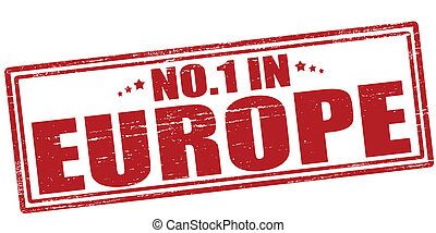 No one in Europe - Stamp with text no one in Europe vector...