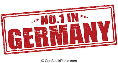 No one in Germany - Stamp with text no one in Germany vector...