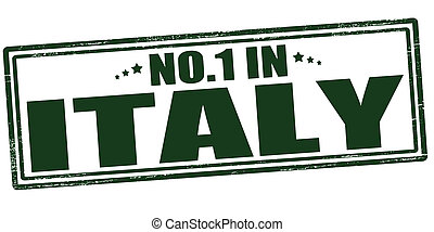 No one in Italy - Stamp with text no one in Italy vector...