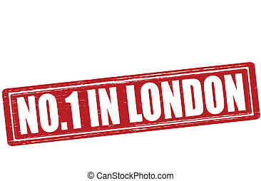 No one in London - Stamp with text no one in London vector...