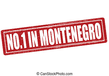 No one in Montenegro - Stamp with text no one in Montenegro ...