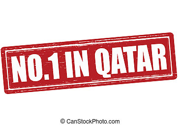 No one in Qatar - Stamp with text no one in Qatar vector...