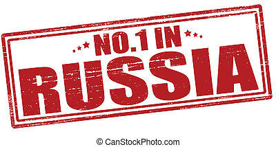No one in Russia - Stamp with text no one in Russia vector...