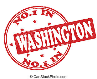 No one in Washington - Stamp with text no one in Washington ...