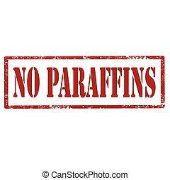 No Paraffins-stamp