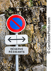 No Parking in France