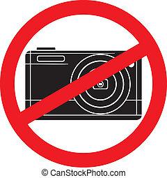 no photography sign-no camera