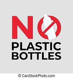 No Plastic Bag Concept.