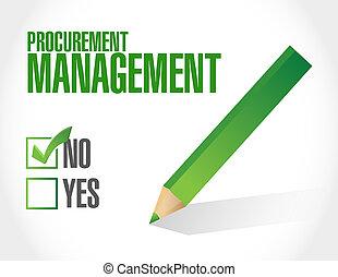 no, procurement, amministrazione, segno, concetto
