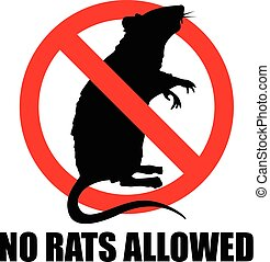 no rats allowed