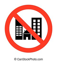 No Real estate sign.