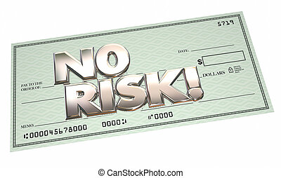 No Risk Check Easy Payment Free Cash Money Safe Secure