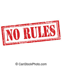 No Rules-stamp