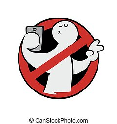 No selfie sign