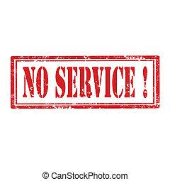 No Service-stamp