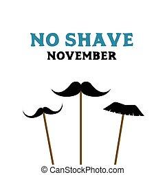 No shave november. Prostate cancer awareness month. Card...