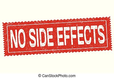 No side effects grunge rubber stamp