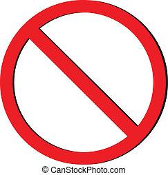 no sign vector  - no sign vector
