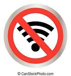No signal sign vector, no signal