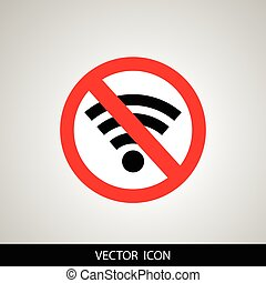 No signal sign vector