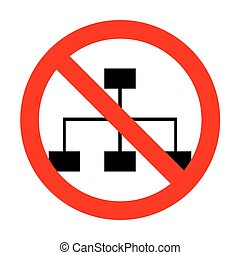 No Site map sign.