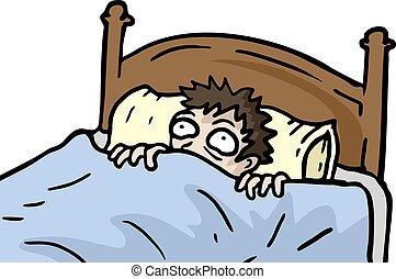 No sleep - Creative design of No sleep