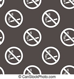 No smoking background seamless