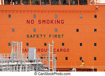 No Smoking, Dangerous Cargo