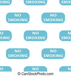 No smoking seamless pattern