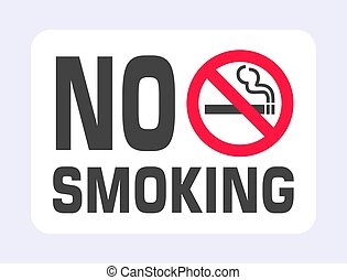 No smoking sign. Forbidden sign icon isolated on black background vector illustration.