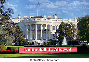 No Socialist Allowed.