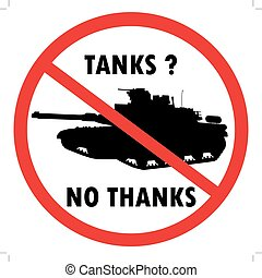 No tanks