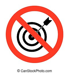 No Target with dart.