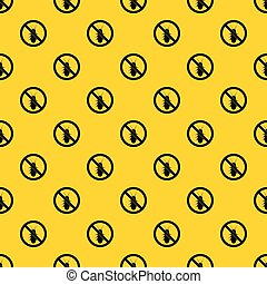 No termite sign pattern vector