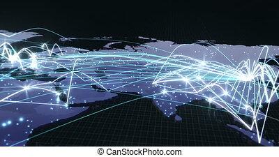 (no, texte, hacked, -, global, porcelaine, connexions, mondiale, v1), sur, beijing, virus