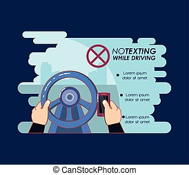 no texting while driving campaign
