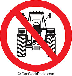 No Tractor Here