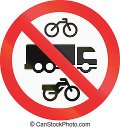 No Trucks, Bicycles Or Mopeds In Mexico