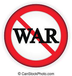 No war sign