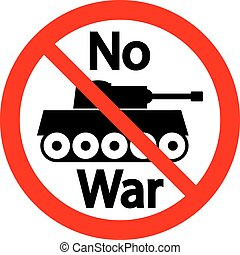 No war sign