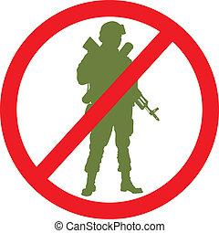 No war. Vector