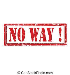 No Way-stamp