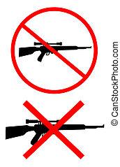 No weaponry - Creative design of no weaponry