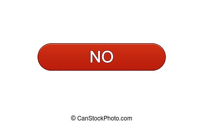 No web interface button wine red color, online application, internet service