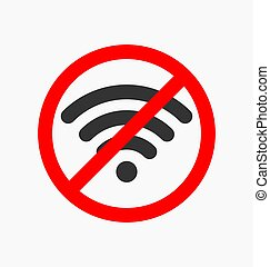 No wifi icon