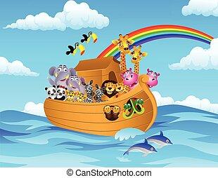 Noah Ark - Vector illustration of Noah's Ark
