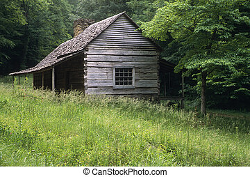 Bud Ogle Place - Noah Bud Ogle Place in the Great Smoky...